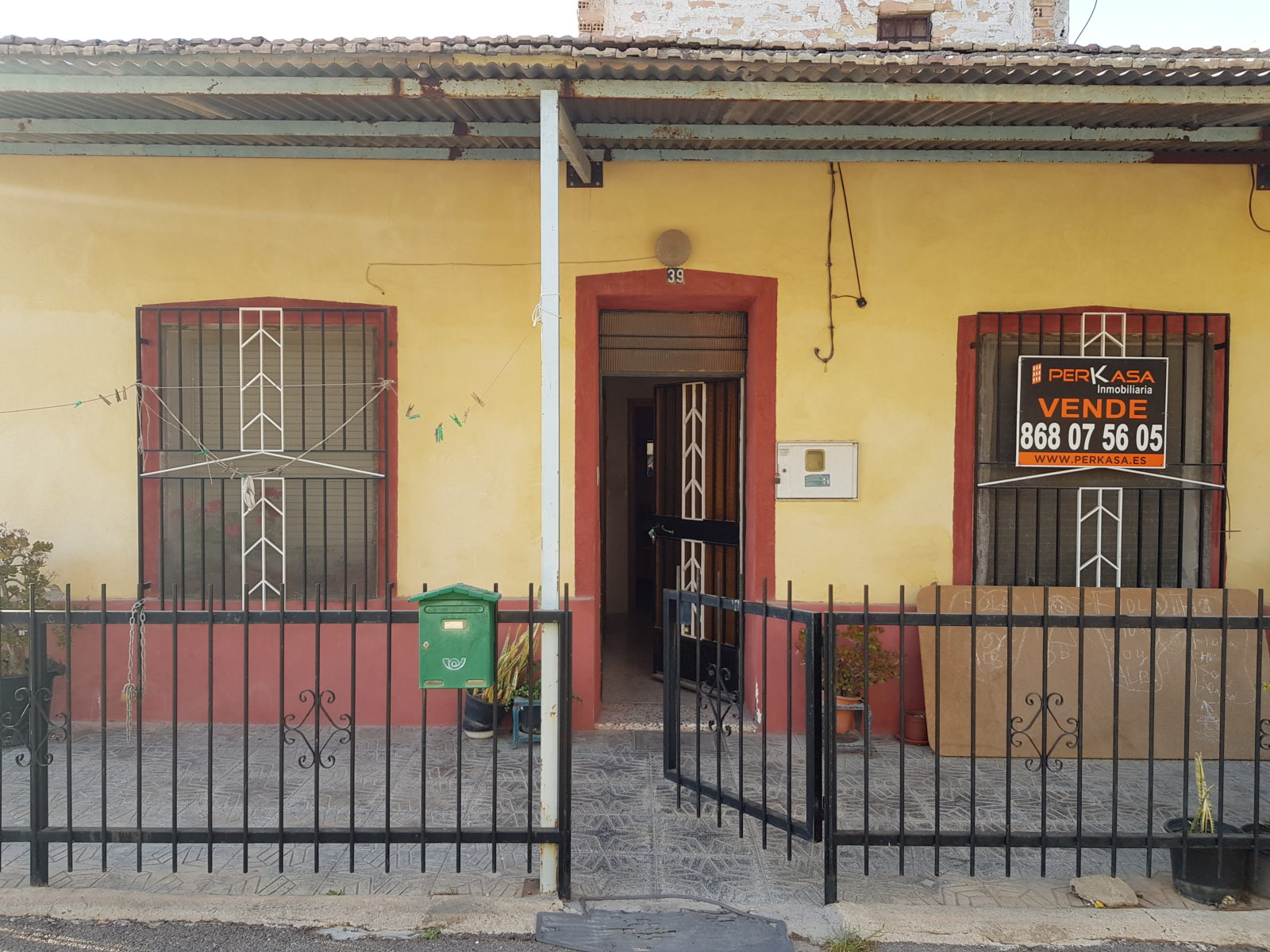 Casa de huerta zona Senda de Los Garres